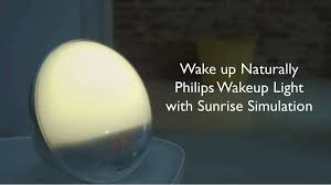 Philips Wake Up Light With Colored Sunrise Simulation Philips Wake Up Light White Gray Walmart Com