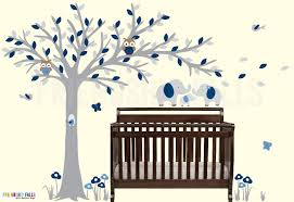 Elephant Wall Decals For Nursery by Blowing Tree Baby Elephant Decal Baby Elephant Nursery Wall