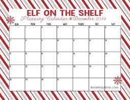 free printable weekly calendar december 2014 free printable elf on the shelf idea calendar and checklist i