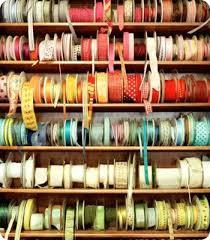 ribbon spools ribbon spools getty images craft room diy wrapping