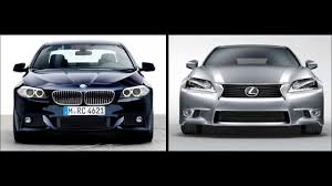 bmw f10 5er vs lexus 2013 gs visual comparison youtube