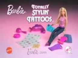 2009 totally stylin u0027 tattoos barbie commercial youtube