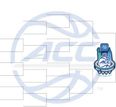 2017 acc men u0027s basketball tournament bracket set see game