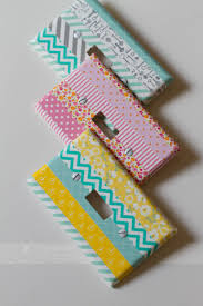 things to do with washi tape 10 amazing things you can do with washi tape switch plate covers