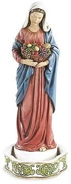 rosary holder bountiful kitchen madonna rosary holder 8 in catholic books