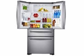 Samsung Cabinet Depth Refrigerator Samsung 24 Cu Ft Counter Depth 4 Door Refrigerator With Flexzone
