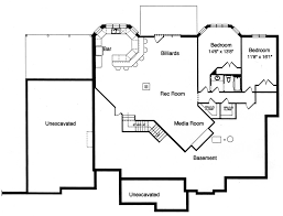 Media Room Plans - hunters glen 9093 3 bedrooms and 2 baths the house designers