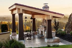 Outdoor Living Space Plans by Ideas For Creating An Outdoor Living Space