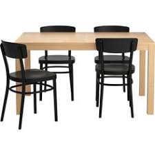 Ikea Compact Table And Chairs Norden Vilmar Bord Och 4 Stolar Vit Table And Chairs Dining