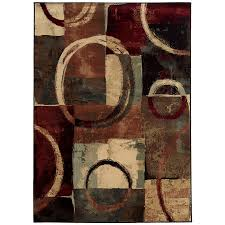 shop oriental weavers of america sheridan multicolor rectangular