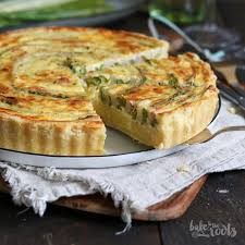 quiche cuisine az asparagus potato quiche with sauce hollandaise bake to the roots