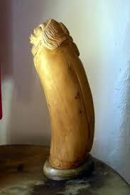 untitled sculpture wood on alabaster base 225 ndn silver