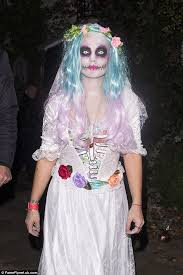 Dead Bride Halloween Costume Lily Allen Dresses Corpse Bride Jonathan Ross U0027s