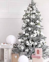 25 white and silver tree decorations ideas feed