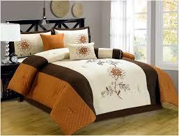 Burnt Orange Comforter King Orange Comforter Sets Queen Home Design U0026 Remodeling Ideas
