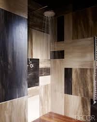 half oval espresso wood teak bathroom shower floor come with