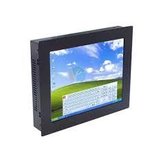 ordinateur de bureau tactile tout en un 12 1 pouces tout en un de bureau tactile led panel pc avec