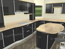 black gloss kitchen ideas high gloss kitchen cabinet design ideas 2017 decoration for house