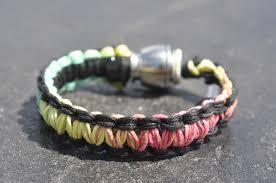 bracelet black images Pipe bracelet black and rasta tokables JPG
