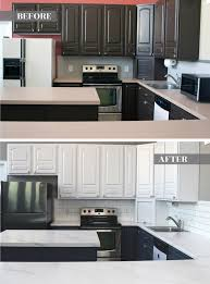 can you spray nuvo cabinet paint giani kitchen makeover series diy marble countertops
