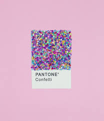 Color Pink by Pantone Confetti Best Pantone Ever Random Inspiration
