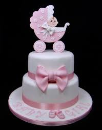 baby shower cake toppers girl baby shower pram topper cake cake by fancy cakes by cakesdecor