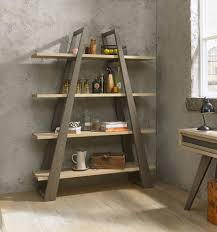 Weathered Bookcase Bentley Designs Cadell Aged U0026 Weathered Oak Open Display Unit