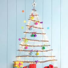 wooden hanging christmasree with