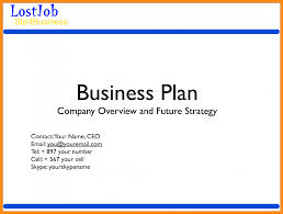 simple business plan one page template pdf example of food 385