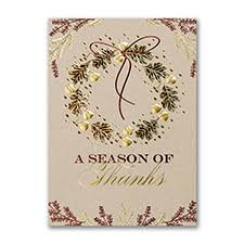 thanksgiving cards carlson craft wedding stationery