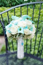 tiffany blue bouquet ideas bridal bouquet of white roses and