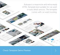 auto spa car wash auto detail template by quanticalabs themeforest
