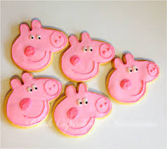 peppa pig cookies peppa pig cookie cutter avaiable at www