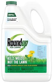 roundup for lawns 4 grass friendly weed killer refill roundup