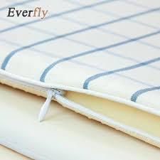 Non Slip Chair Pads Aliexpress Com Buy Nordic Blue White Plaid Polyester Non Slip