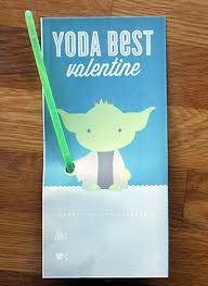 yoda valentines card kid wars glow stick cards yoda best be