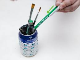 cool pen holders 3 ways to make a pencil holder from a can wikihow