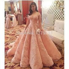 dress designer arabic designer formal dress robe de soiree pink lace