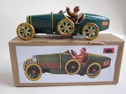 toy bugatti bugatti paya vintage reproduction tin toy bugatti pinterest