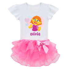 pink clothing the official pbs kids shop sesame pink tutu