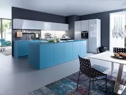 cuisine leicht verre mat bleu pétrole arivat kuchen votre