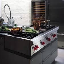Modular Gas Cooktop Kitchen Wonderful Pro Style Modular Gas Downdraft Rangetop 48 Jenn