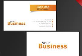 bus card template 30 beautiful business card design templates
