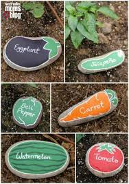 weather or forecasting rock stone garden painted funny rock diy