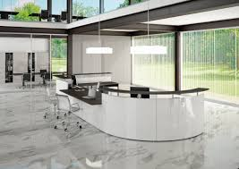 Gloss White Reception Desk Angelico Italian White Gloss Reception Desk