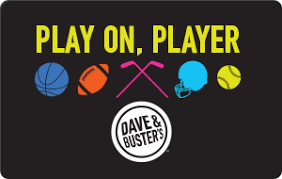 play egift dave buster s easy gift ideas gift cards