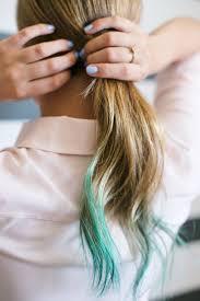 dye bottom hair tips still in style hair trends ave styles