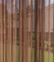 Wire Curtain Room Divider by Celebrities And Designers Install Cool Coil Curtains Oregon