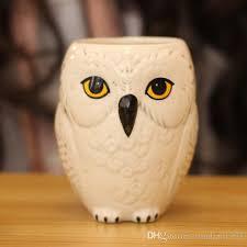 wild finding hedwig owl ceramic mug coffee cup 300ml cute limited