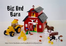 lego ideas big red barn
